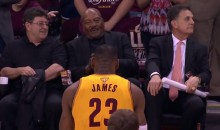 LeBron James Bows To Jim Brown Before Game 3 (Video)