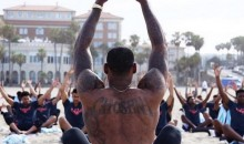 LeBron James Leads Beach Yoga at Nike Basketball Academy (Pics)
