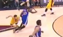 Did Matthew Dellavedova Try to Take Out Draymond Green's Legs? (Video)