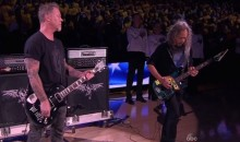 Metallica Plays Anthem Before NBA Finals Game 5 (Video)