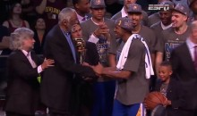 Cavs Fans Boo NBA Finals MVP Andre Iguodala (Video)