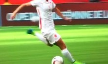 Women's World Cup: Netherlands Player Swings and Misses on Breakaway (Video)