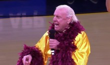 Ric Flair Pumps Up Cavs Fans Prior to Game 4 (Video)