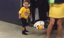 Riley Curry Victory Dance! (Video)