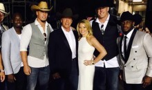 J.J. Watt Does His Schwarzenegger Impression for Arnie at the CMT Awards (Video)