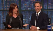 Seth Meyers and Amy Poehler Blast SI Writer Who Insulted Women's Sports (Video)