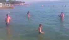These Bosnian Beachgoers Don't Get How Frisbees Work (Video)