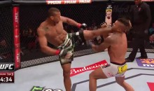 Thiago Santos Delivers Brilliant Roundhouse Kick KO (Video)