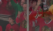 Jonathan Toews Scores, Vince Vaughn Approves (Video)