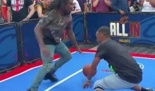 Wale Broke Some Ankles in 1-on-1 Outside of Game 4 (Video)