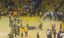 Warriors Fan Hits Half-Court Shot, Wins BMW (Video)