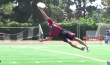 We've Got Another AMAZING Frisbee Catch For You (Video)