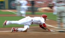 Billy Hamilton Steals Second, Third, then Home…Because He Can (Video)