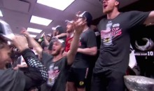 "Blackhawks Celebration Begins with ""We Are the Champions,"" End with Johnny Oduya Half-Naked in a Nightclub (Video)"