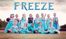 This Frozen-Themed Girls T-Ball Team Is Adorable (Pic)