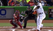 The Latest Monster Giancarlo Stanton Home Run Will Leave You Shaking Your Head (Video)