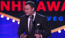 The Jiri Hudler Lady Byng Acceptance Speech Was Easily the Most Entertaining Part of the 2015 NHL Awards (Video)
