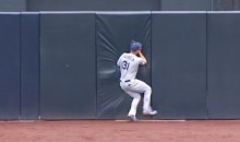 You Like Guys Crashing Into Walls? Check Out This Game-Saving Joc Pederson Catch (Video)