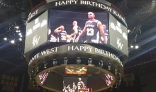 Kim Kardashian Rented Out the Staples Center for Kanye's Birthday, Because That's What Rich People Do (Pics)