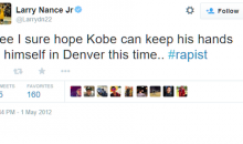 Lakers Draft Pick Larry Nance Jr Once Called Kobe a Rapist on Twitter, so His First Day at Work Might Be Pretty Awkward (Tweets)