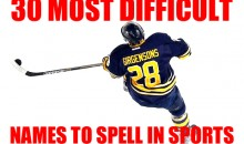 30 Most Difficult Names to Spell in Sports