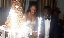 Papiss Cisse Married His Senegalise Fiancée in Paris, Forgot to Mention It to English Girlfriend in Newcastle (Pics)