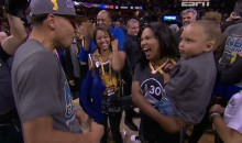 Riley Curry Celebrating Dad's NBA Championship? Yep, It's Adorable (Videos)
