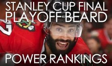 Stanley Cup Final Playoff Beard Power Rankings