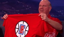 Steve Ballmer Unveiled the New Clippers Logo on Conan (Video + Pics)