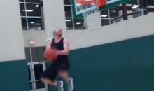 5'8″ Cowboys WR Cole Beasley Throws Down Two-Handed Reverse Dunk (Video)
