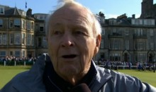 Arnold Palmer Chokes Up Discussing the Reception He Received at St. Andrew's (Video)