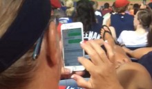 Did These Braves Fans Catch a Woman Cheating On Her Husband at the Game? (Pics)