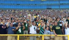 Brett Favre Receives Rousing Ovation From Lambeau Crown During Packers Hall of Fame Ceremony (Videos)