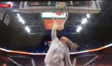 Brittney Griner Misses Two Consecutive Dunks During SportsCenter Segment (Video)