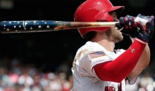 Bryce Harper Hits Most Patriotic Home Run Ever (Video)