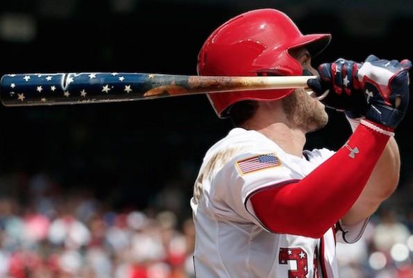Bryce Harper Patriotic Home Run