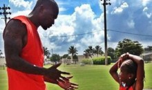 Chad Johnson's Daughter Is Killing It in Track and Field (Video)