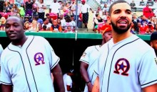 Drake and Hannibal Buress Played Softball for Charity (Video)