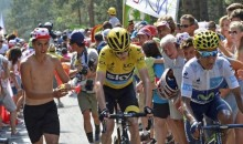 Fan Throws Urine at Tour de France Leader Chris Froome