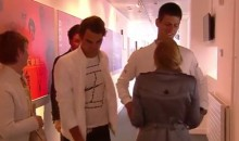 That Awkward Moment Between Federer and Djokovic Following the Wimbledon Final (Video)