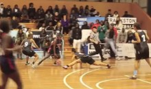 Female's Killer Crossover Causes Opponent To Do The Splits (Video)