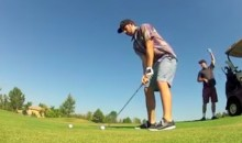Golfer Shanks His Drive and Destroys a GoPro (Video)