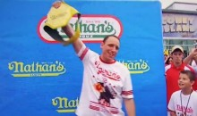 Joey Chestnut's Intro at Nathan's Hot Dog Eating Contest Was Awesome (Video)