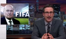 John Oliver Went on Another, Shorter FIFA Rant Sunday (Video)