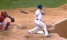 Jon Lester Got a Hit! (Video)