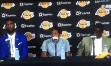 Lakers Press Conference Gets Awkward After Kobe Question (Video)