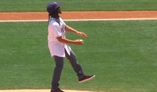 Lil' Jon Threw Out a Terrible First Pitch at Petco Park (Video)