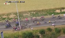 Monster Crash at Tour de France Takes Out Dozens of Riders (Video)
