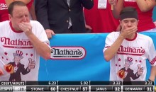 Matt Stonie Beats Joey Chestnut in Nathan's Hot Dog Eating Contest