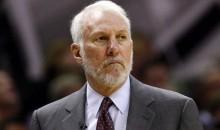 Gregg Popovich Coaching Team Africa in NBA Africa Game